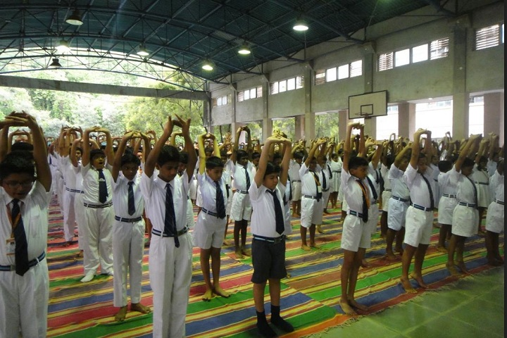 Atomic Energy Central School No 6-International Yoga Day