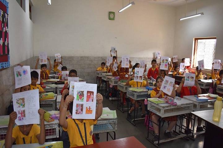 B K Birla Public School-Art