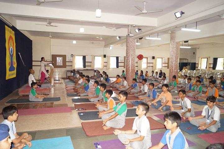 B K Birla Public School-Yoga