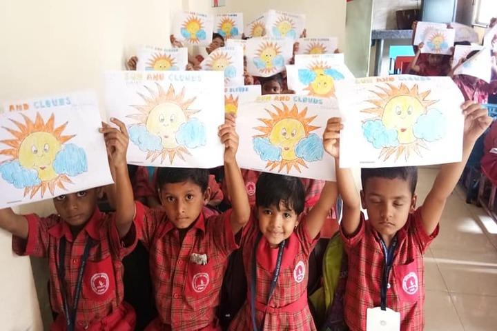 Bal Seva English Medium School-Drawing Activity