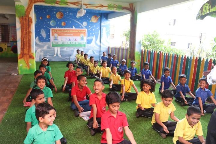 Bal Seva English Medium School-Yoga Activity