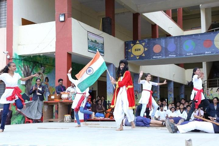 Balaji English Medium School-Independence Day