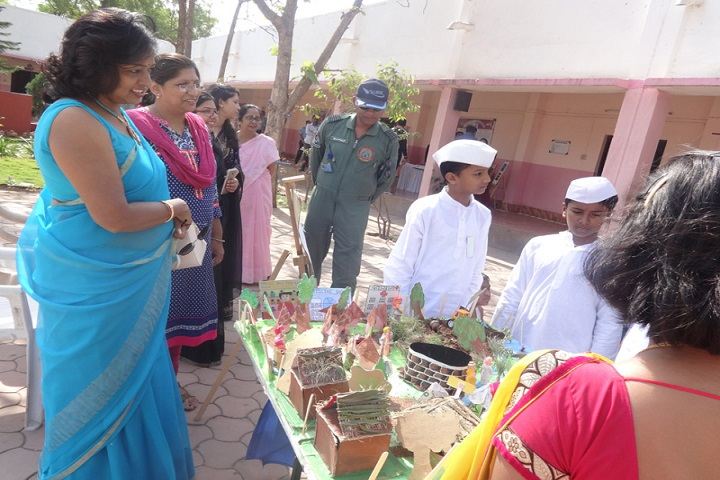Balniketan Air Force School-Language Exhibitions