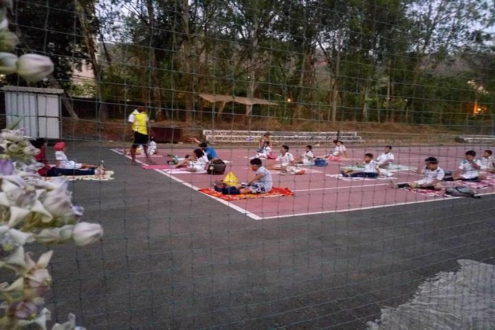 Bharati Vidyapeeth English Medium School-Yoga