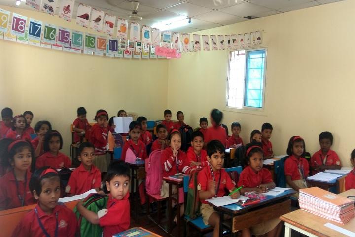Bharati Vidyapeeth English Medium School-Classroom