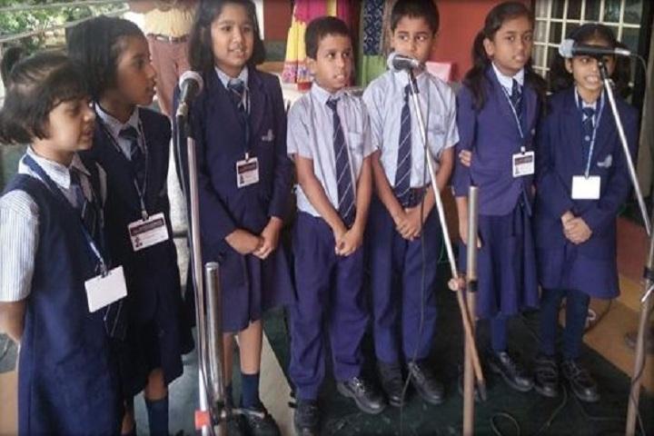 Bharati Vidyapeeth English Medium School-Singing Competition