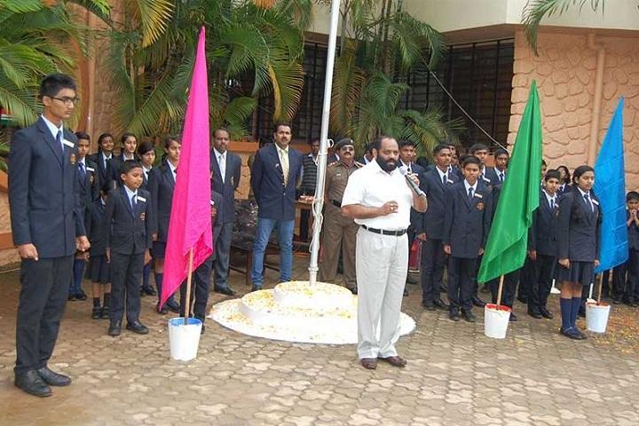 Bharati Vidyapeeth GodS Valley International School-Investiture Ceremony