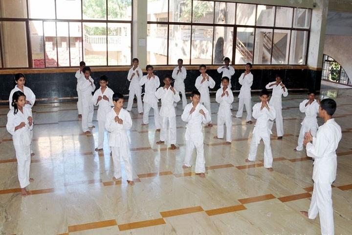 Bharati Vidyapeeth GodS Valley International School-Karate Class