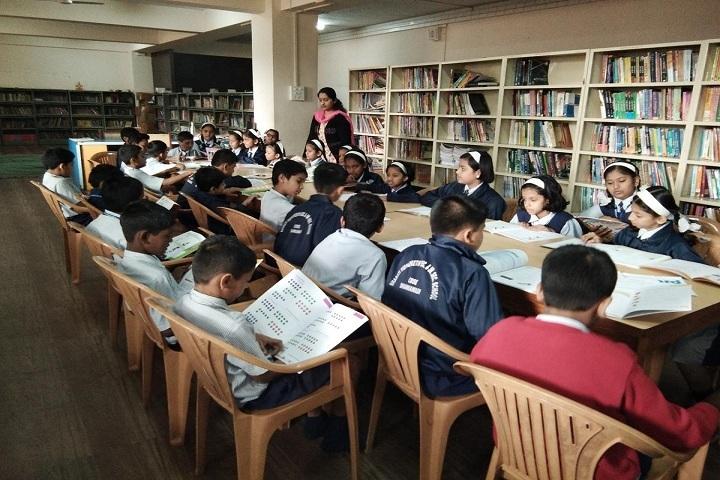 Bharati Vidyappeth English Medium High School-Library