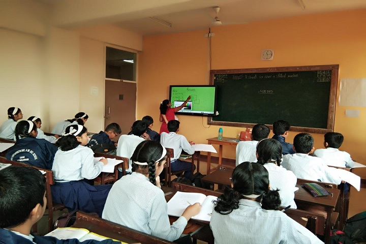 Bharati Vidyappeth English Medium High School-Smart Class Teaching