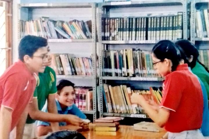 Bhavans Bhagwandas Purohit Vidya Mandir-Library