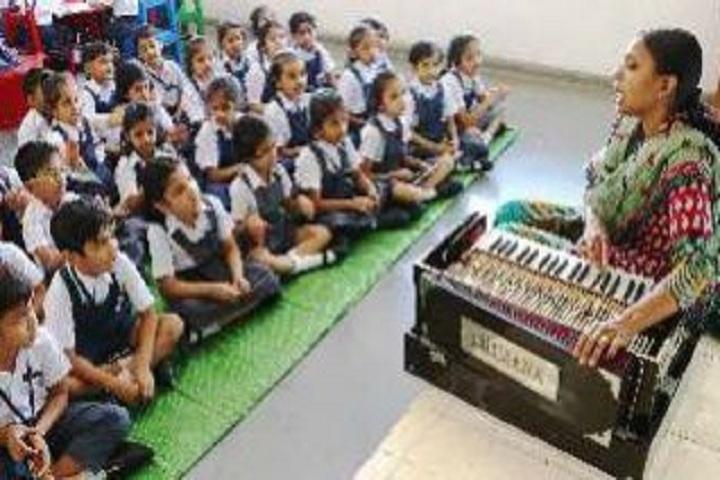 Bhavans Bhagwandas Purohit Vidya Mandir-Music Room