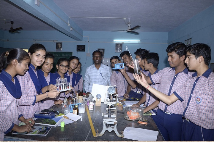 Bhel Secondary School-Chemistry Lab