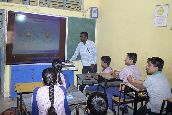 Bhel Secondary School-Digital Classroom