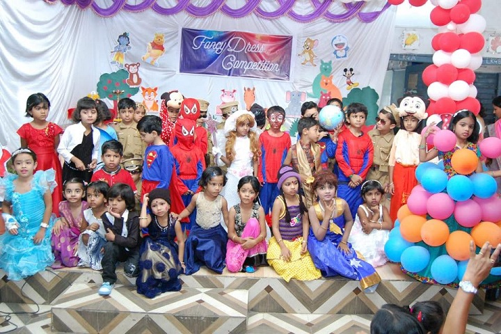 Bhel Secondary School-Fancy Dress Competition