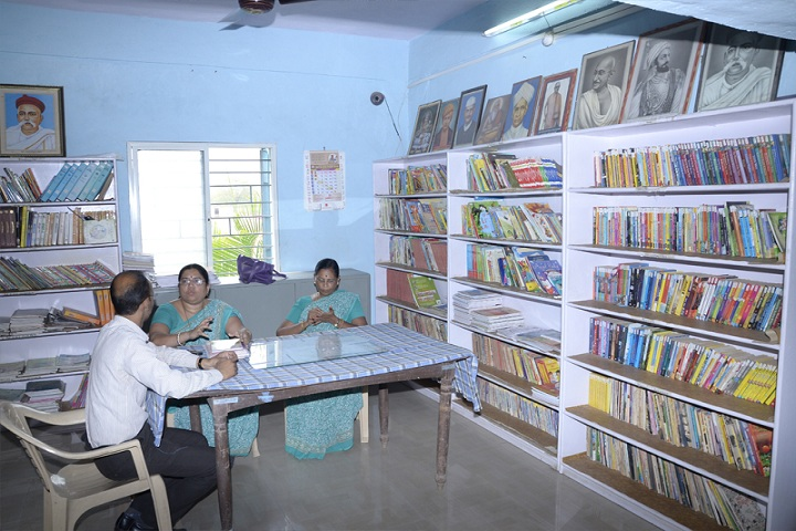 Bhel Secondary School-Library