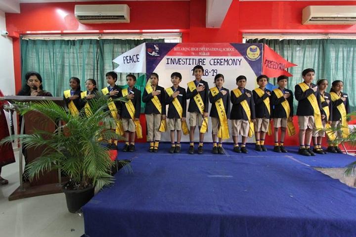 Billabong High International School-Investiture Ceremony