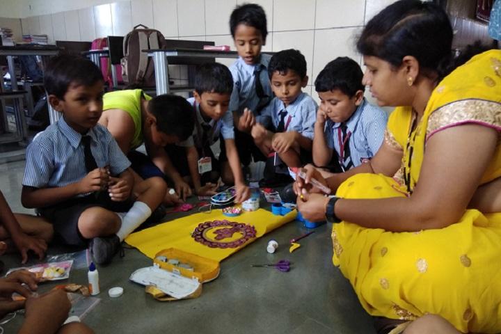 Central Public School-Rakhi Making Competition