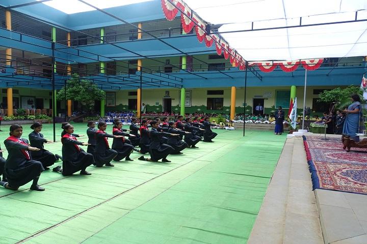 Chanda Public School-Cabinet Investiture Ceremony