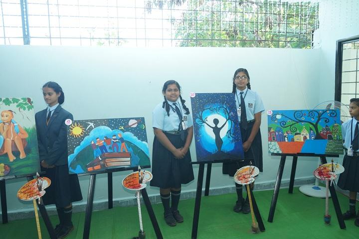Chanda Public School-Canvas Painting Competition