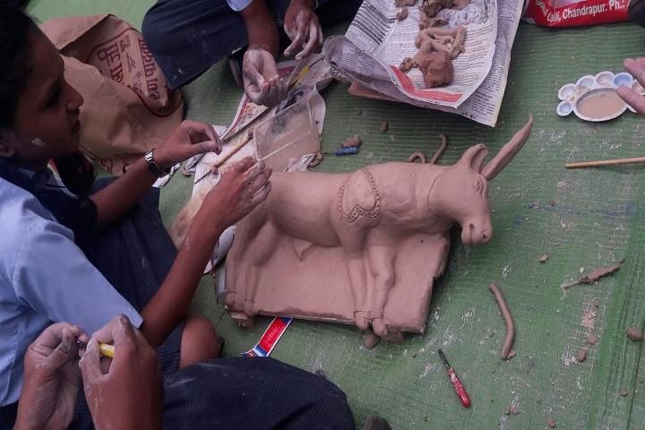 Chanda Public School-Clay Modelling Competition