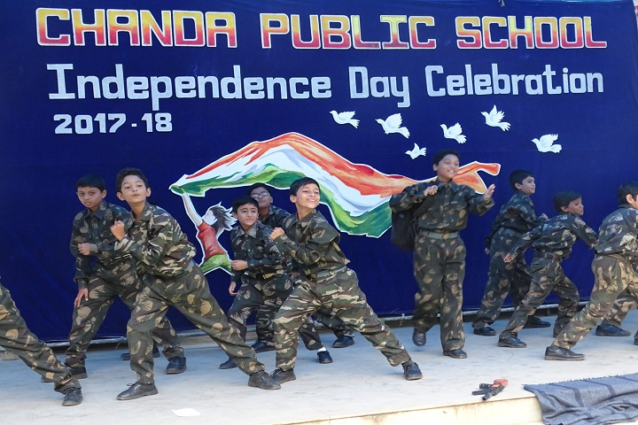 Chanda Public School-Independence Day