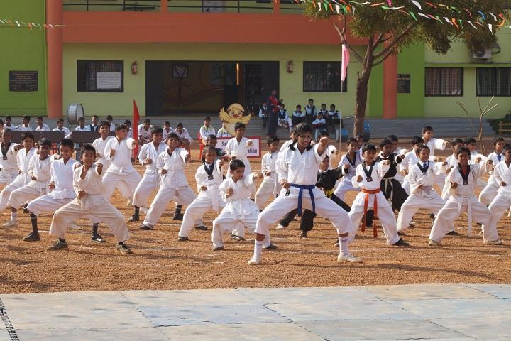 Chanda Public School-Karate