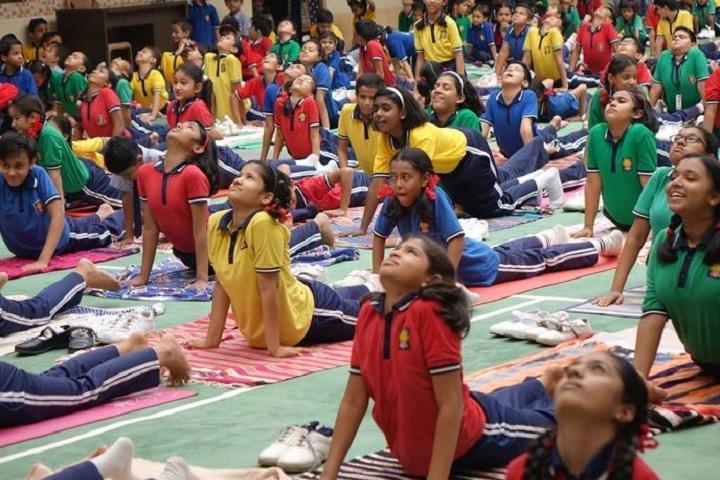 Chavara Public School-Yoga Day