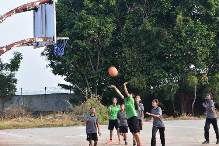 Chhatrapati Shivaji Public School-Basket Ball Court