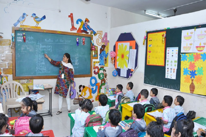 City International School-Class Room