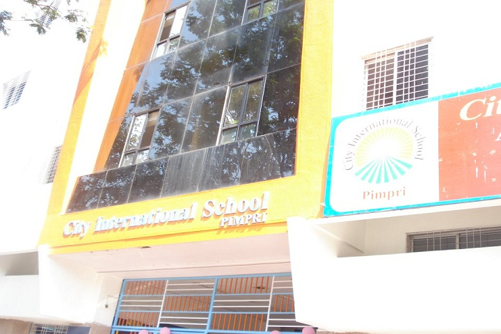 City International School-Campus-Front-View