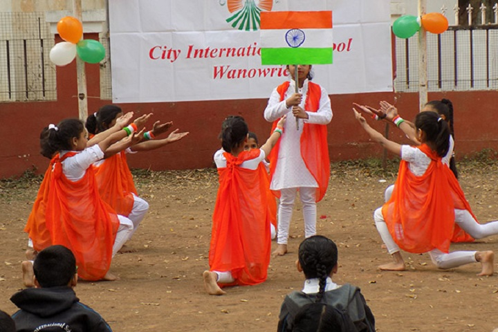 City International School-Republic Day