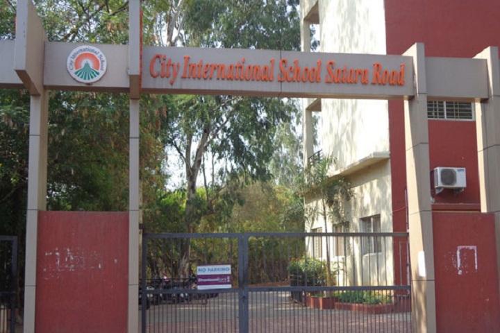 City International School-School Front View