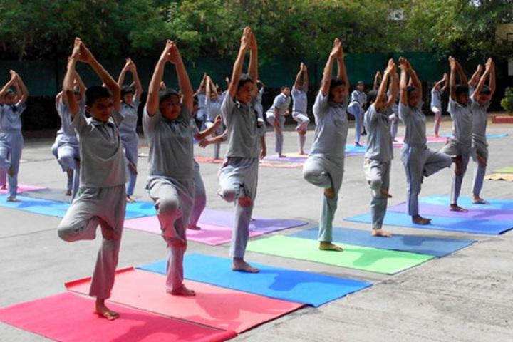 City International School-Yoga Day