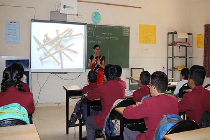 Cygnet Public School New Narhe-Smart Class Room