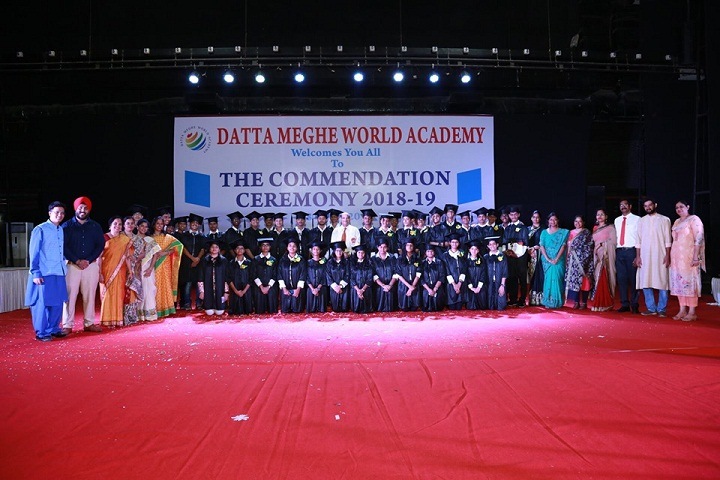 Datta Meghe World Academy-Commendation Ceremony