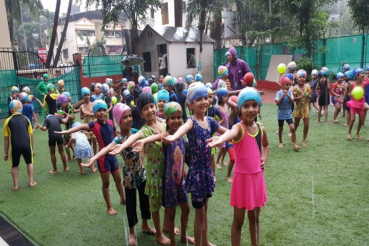 Datta Meghe World Academy-Rain Dance