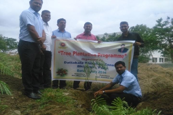 Dattakala Shikshan Sanstha-Tree Plantation