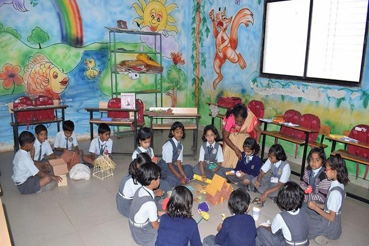 Dattakala Shikshan Sanstha-Arts Room