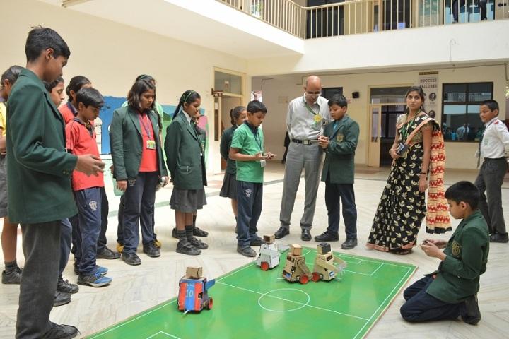 Delhi Public School-Robotics Workshop