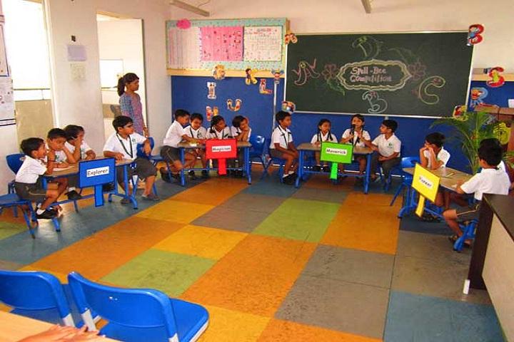 Delhi Public School Panvel-Spellbe Competition