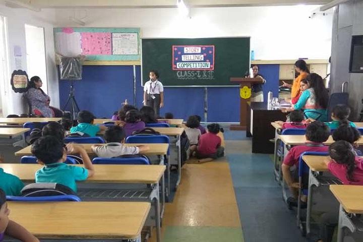 Delhi Public School Panvel-Story Telling Competition