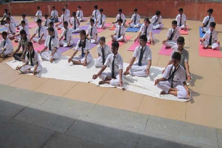Delhi Public School Panvel-Yoga Day