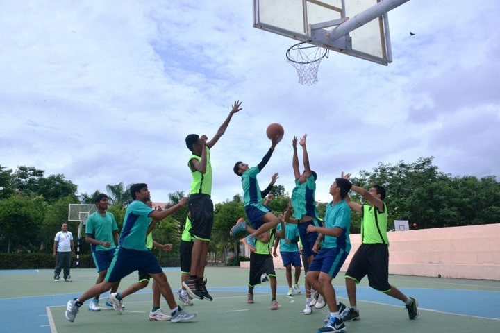 Dhruv Academy-Basket Ball