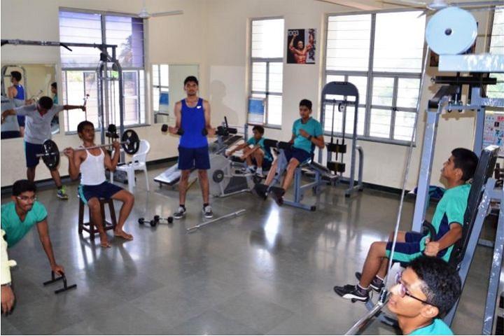 Dhruv Academy-Gym