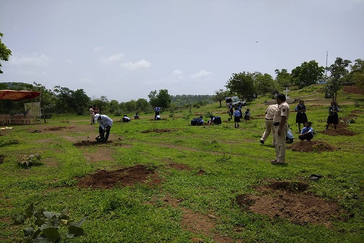 Divine Providence School-Tree Plantation