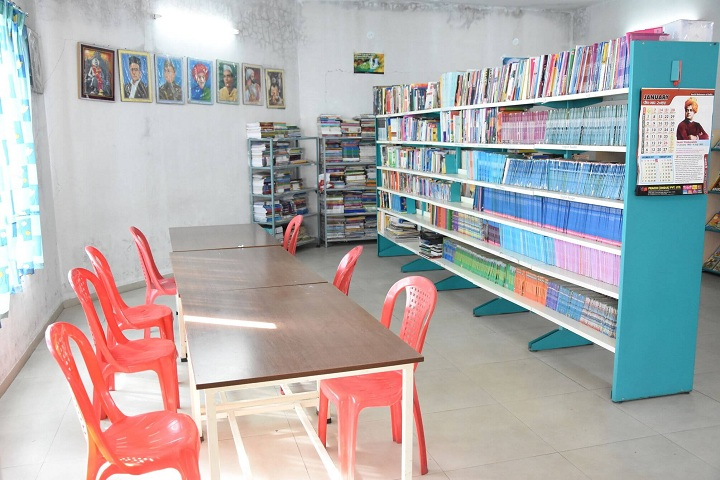 Dnyanada English School-Library