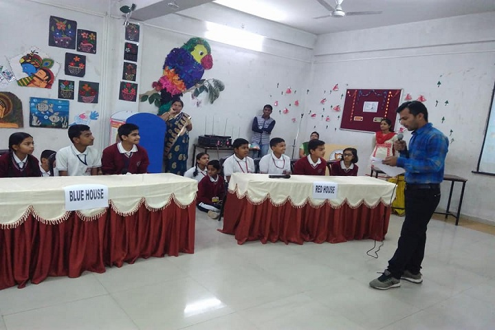 Dnyanada English School-Quiz Competition