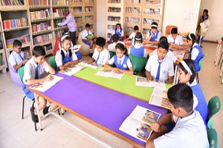 Dr D Y Patil Public School-Library