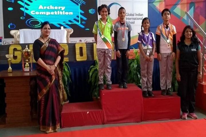 Dr D Y Patil Public School-Archery Winners